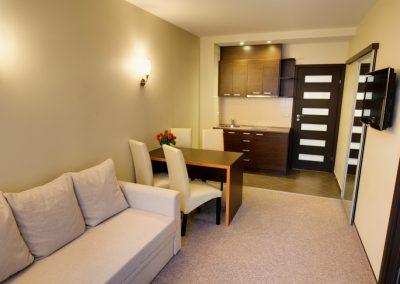 Apartamentai su mini virtuvėle ir atskiru įėjimu